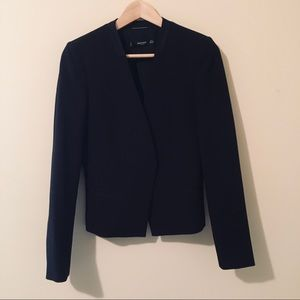 Mango Jackets & Coats - Mango   Satin Trim Open Blazer